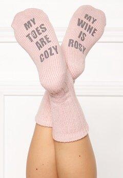 PJ. Salvage Fun Socks Blush Bubbleroom.eu