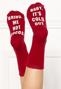 PJ. Salvage Fun Socks Red Bubbleroom.se