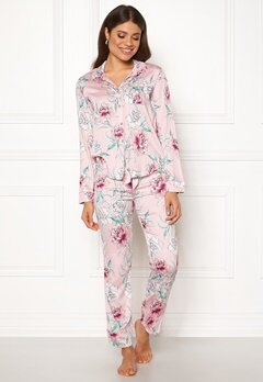 PJ. Salvage PJ Pyjama Set Pale Pink Bubbleroom.se