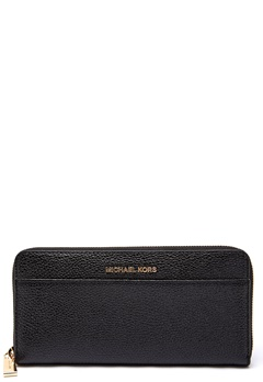 Michael Michael Kors Pocket Zip Around Wallet 001 Black Bubbleroom.fi