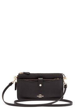 COACH Polished Pebble Bag Black Bubbleroom.se