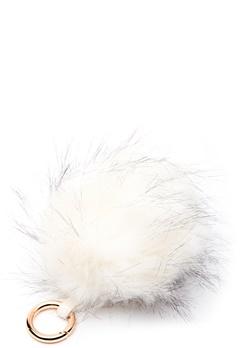 ROCKANDBLUE Pom Pom Charm Faux Fur 8010 Bleached/Gold Bubbleroom.se