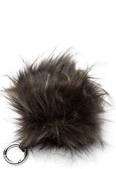 ROCKANDBLUE Pom Pom Charm Faux Fur 8370 Greyish/Silver Bubbleroom.se