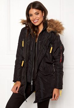 Alpha Industries PPS N3B Wmn Jacket Black Bubbleroom.se