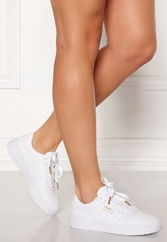 PUMA Cali Leather Sneakers 001 White Bubbleroom.se