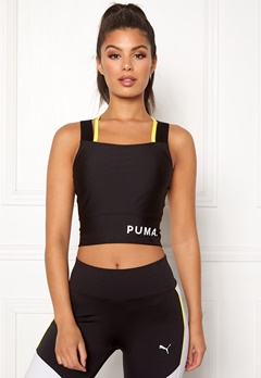 PUMA Chase Crop Top 001 Black Bubbleroom.se