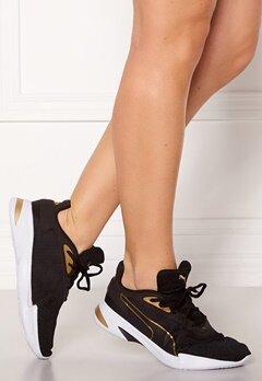 PUMA Jaro Metal Sneakers 002 Blk/Gold Bubbleroom.se