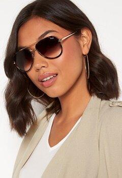 Quay Australia All In Mini Sunglasses Tort/Brown Fade Lens Bubbleroom.se