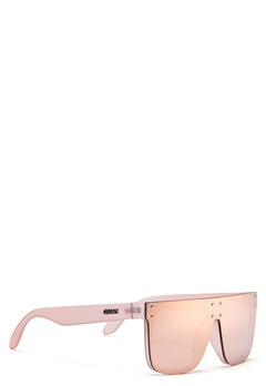 Quay Australia Hidden Hills Sunglasses Pink/Pink Mirror Bubbleroom.se