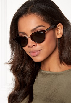 Quay Australia Rumours Sunglasses Tort/Green Lens Bubbleroom.se