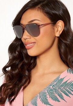 Quay Australia The Playa Sunglasses Bronze/Brown Flash Bubbleroom.se