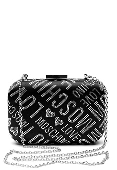 Love Moschino Quilted Small Bag Silver Bubbleroom.se