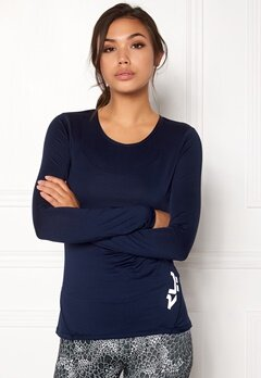 Röhnisch Genna Long Sleeve Indigo Night Bubbleroom.eu
