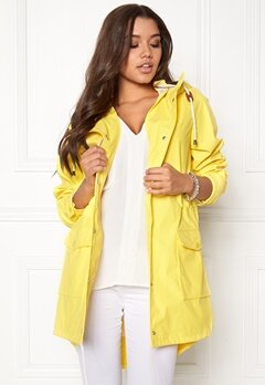 VILA Rain Jacket Lemon Zest Bubbleroom.no