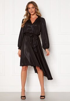 Ravn Alexis Dress Black Bubbleroom.se