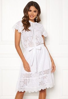 Ravn Sonny Dress White Bubbleroom.se