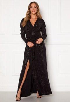 Ravn Tuesday Dress Black Sequin Bubbleroom.se