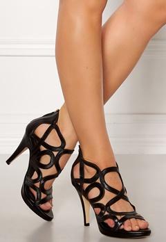 SARGOSSA Redefined New Suede Heels Black Bubbleroom.se