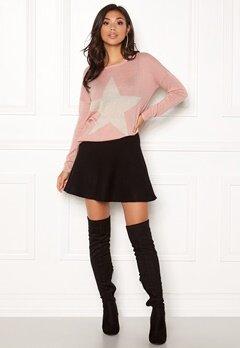 ONLY Reese L/S Pullover Knit Misty Rose Bubbleroom.se