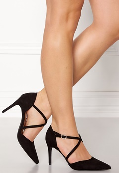 New Look Rexed Strap Point heel Black Bubbleroom.se