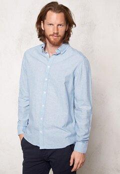 Tailored & Original Roade Shirt 1025 Sky Blue Bubbleroom.se