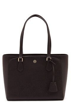 TORY BURCH Robinson Small Tote Black Bubbleroom.se