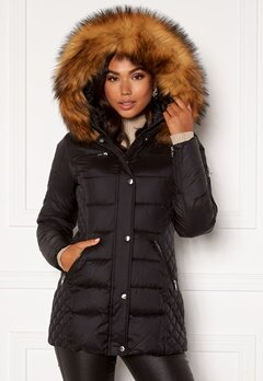 ROCKANDBLUE Beam Mid Jacket 89915 Black/Natural Bubbleroom.se
