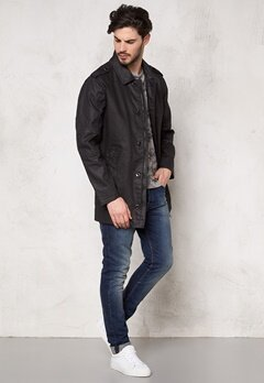 ROCKANDBLUE Decide Waxed Denim Twill Black Bubbleroom.se