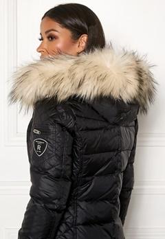 ROCKANDBLUE Faux Fur Trim Black/Artica Bubbleroom.se