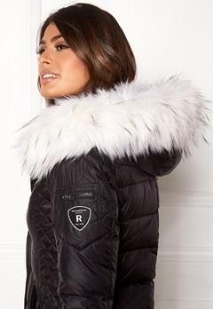 ROCKANDBLUE Faux Fur Trim Black/Bleached Bubbleroom.eu