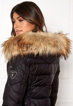 ROCKANDBLUE Faux Fur Trim Black/Natural Bubbleroom.se