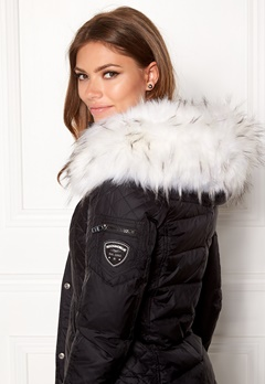 ROCKANDBLUE Faux Fur Trim Collar Bleached Bubbleroom.se
