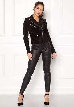 ROCKANDBLUE Nikki Pig Split Leather Black Bubbleroom.se