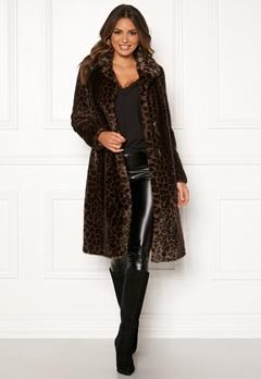 ROCKANDBLUE Penny Faux Fur Brownish/Leopard Bubbleroom.se