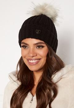 ROCKANDBLUE Pom Pom Hat Black/ Arctic Bubbleroom.se