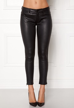 ROCKANDBLUE The Leather Pants Black Bubbleroom.se