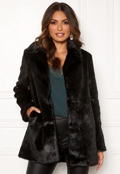 ROCKANDBLUE Tippi Faux Fur Black Bubbleroom.se