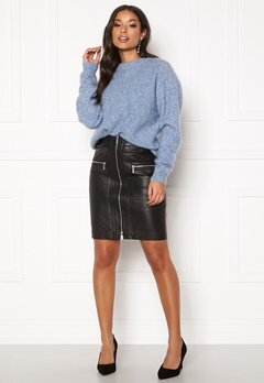 ROCKANDBLUE Willow Lamb Chill Skirt Black Bubbleroom.se