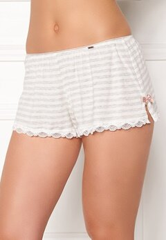 Dorina Romy Shorts Grey Stripes Bubbleroom.fi