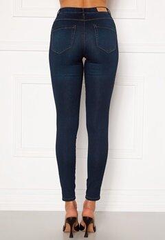 ONLY Royal Life HW Jeans Dark Blue Denim Bubbleroom.se