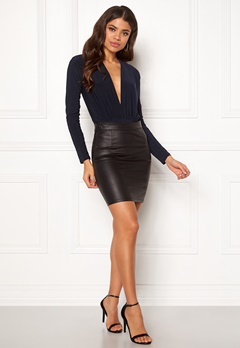 New Look Ruch Plunger Body Navy Bubbleroom.se
