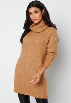 Rut & Circle Alexa Knit Dress 154 Camel bubbleroom.se