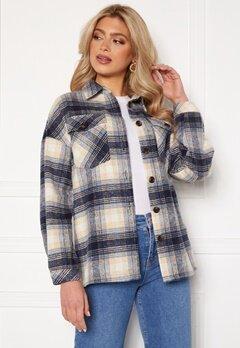 Rut & Circle Caroline Jacket Blue Check Bubbleroom.se