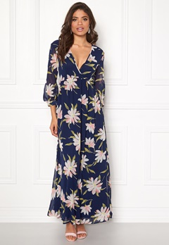 Rut & Circle Charlie Long Flower Dress Flower Bubbleroom.fi