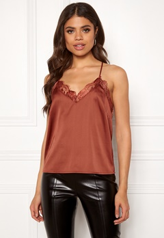 Rut & Circle Cherry Singlet Rust Bubbleroom.se
