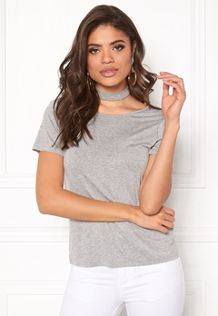 Rut & Circle Choker Strap Top Grey Bubbleroom.fi