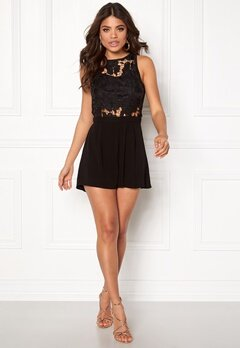 Rut & Circle Emmy Playsuit Black Bubbleroom.fi
