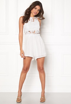 Rut & Circle Emmy Playsuit White Bubbleroom.fi