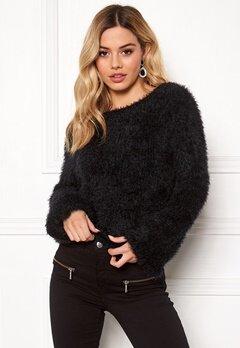 Rut & Circle Feather Knit Black Bubbleroom.se
