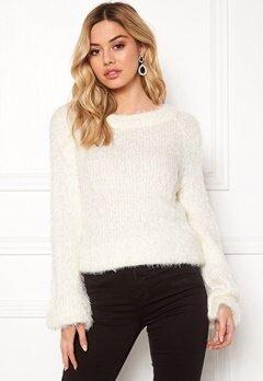 Rut & Circle Feather Knit White Bubbleroom.se